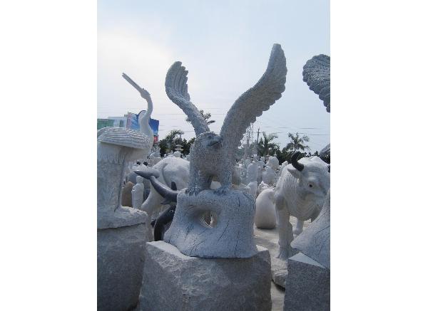 石雕动物_动物雕塑(图片)