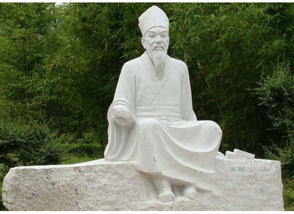 古代人物雕刻_名人塑像(图片)