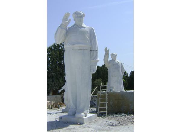 毛主席雕刻_毛泽东雕像(图片)