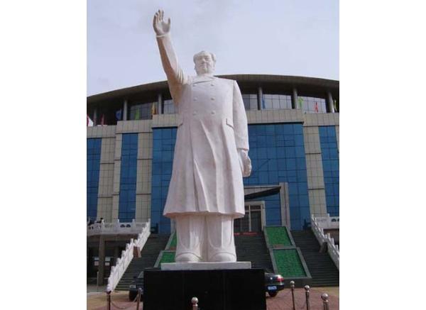 毛主席石雕_毛泽东塑像(图片)