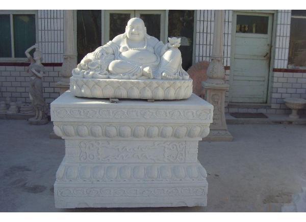石雕弥勒佛_弥勒菩萨塑像(图片)