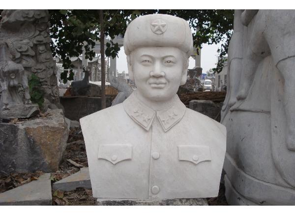 人物肖像石雕_儿童头像雕塑(图片)