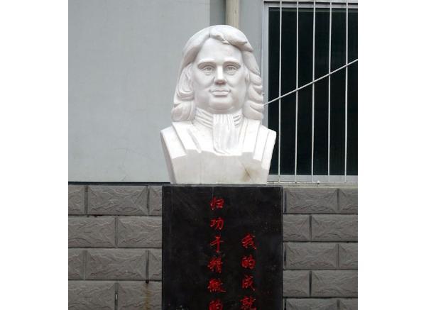人物肖像石雕_人物头像(图片)