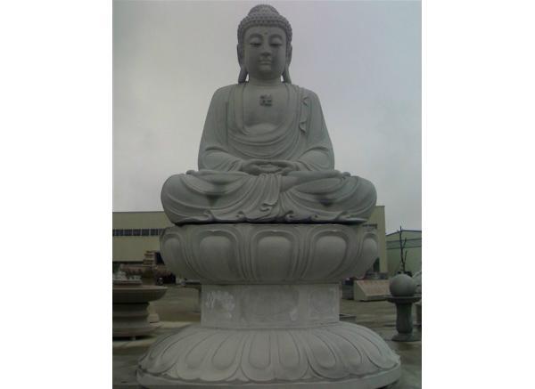 如来佛祖雕塑_如来坐莲像(图片)