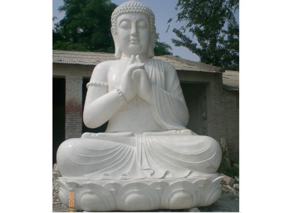 如来石雕像_释迦摩尼雕塑(图片)