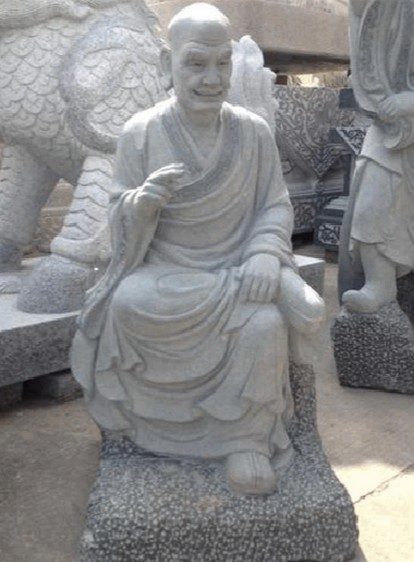 石雕十八罗汉_沉思罗汉(图片)