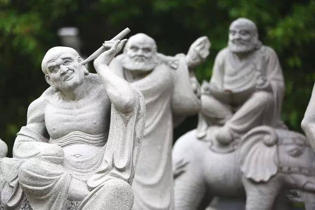 石雕十八罗汉_德光尊者(图片)