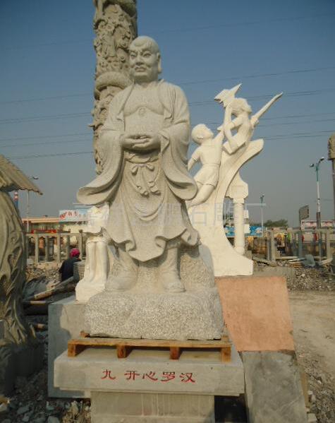 十八罗汉雕像价格_善调尊者(图片)