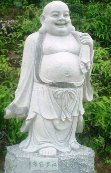 十八罗汉石像_善思尊者(图片)