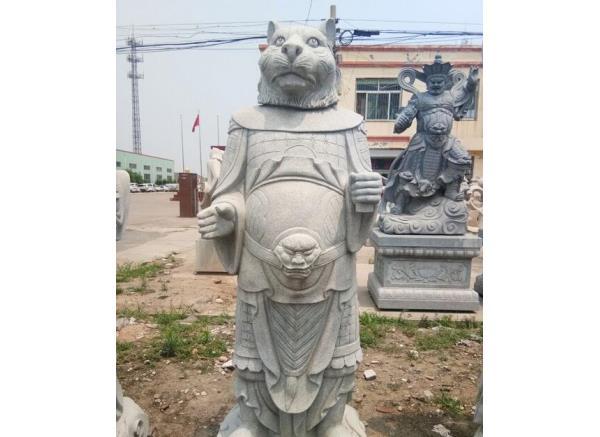 石雕十二生肖_生肖猴雕塑(图片)