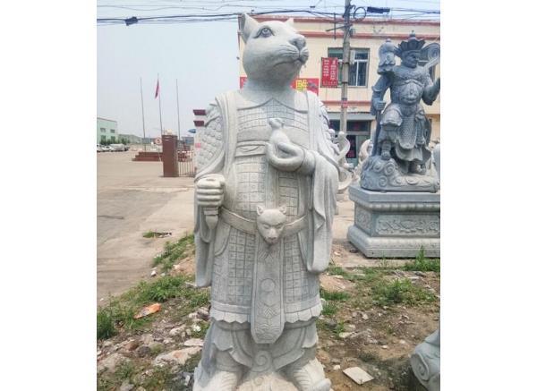 十二生肖工艺品厂家_生肖鼠雕塑(图片)