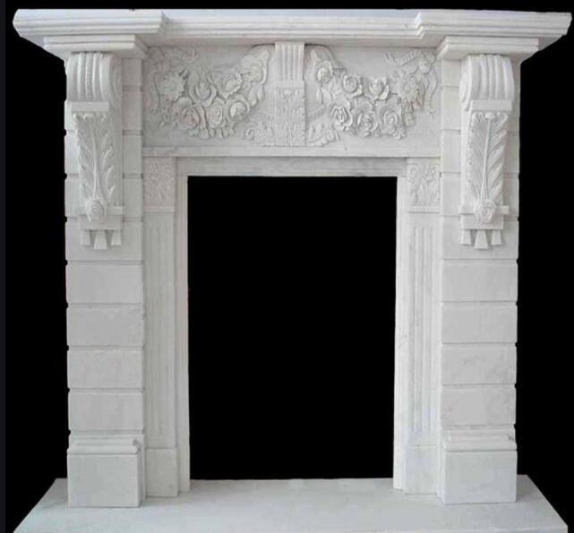 石雕壁炉_头像雕刻壁炉(图片)