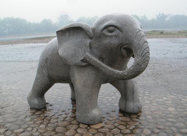 石大象价格_招财象(图片)