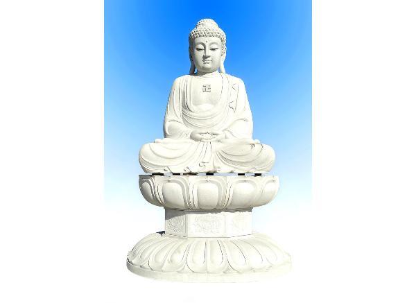 石佛像雕刻价格_释迦摩尼雕塑(图片)