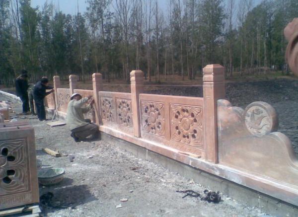 石雕护栏_栏板雕塑(图片)