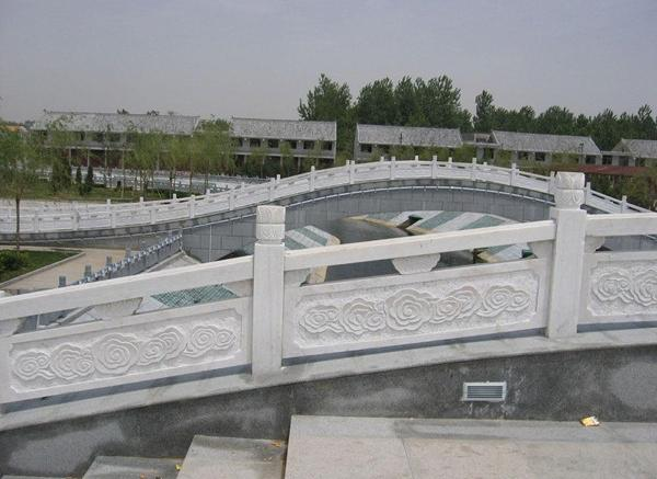 石栏板_石雕刻护栏(图片)