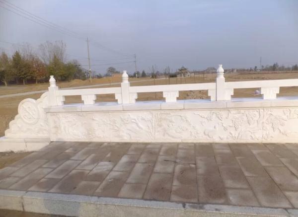 石护栏_花纹石雕栏板(图片)