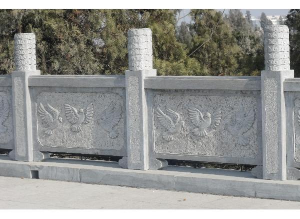 石栏杆报价_栏杆雕塑(图片)