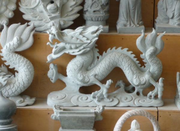 石龙工艺品厂家_回头龙雕塑(图片)