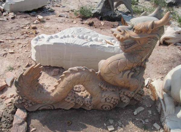 石雕龙报价_龙形浮雕(图片)