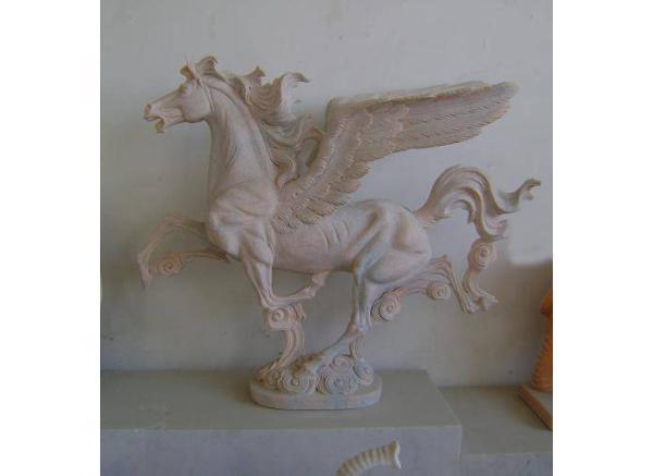 石雕马_奔马雕塑(图片)