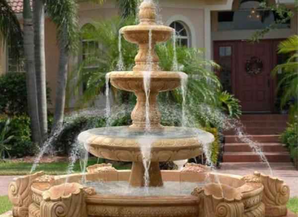 喷泉雕塑_西方人物石雕喷泉(图片)