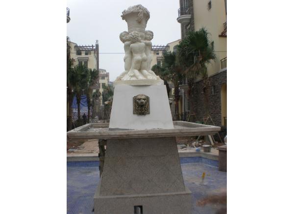 石雕喷泉价格_碗状喷泉雕塑(图片)