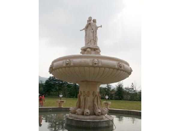 石雕喷泉报价_西洋喷泉雕塑(图片)