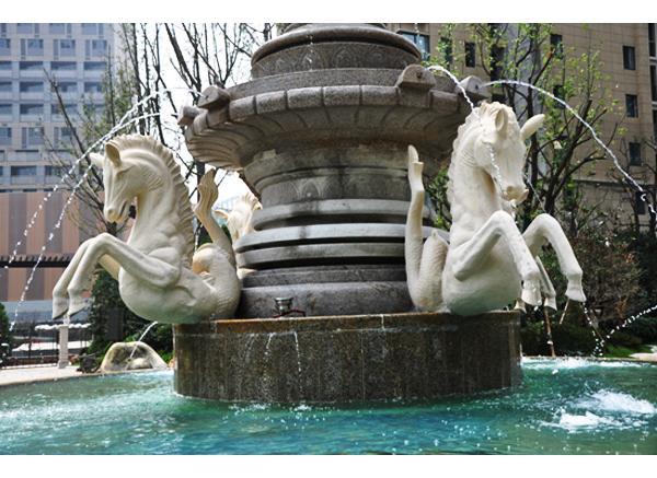 喷泉雕塑_喷泉石雕(图片)