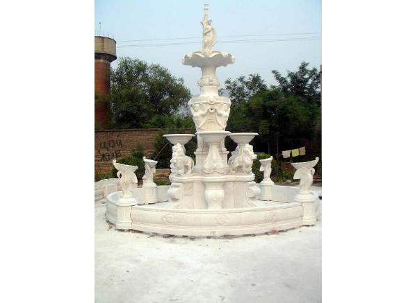 喷泉雕刻_鱼缸风水喷泉(图片)
