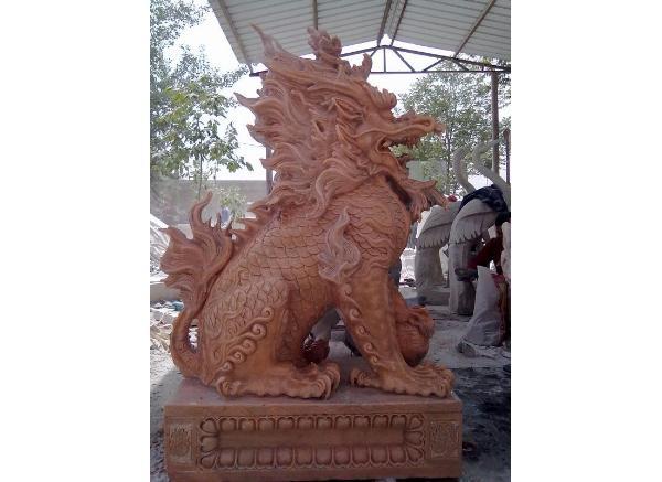 石麒麟价格_仿古麒麟雕塑(图片)