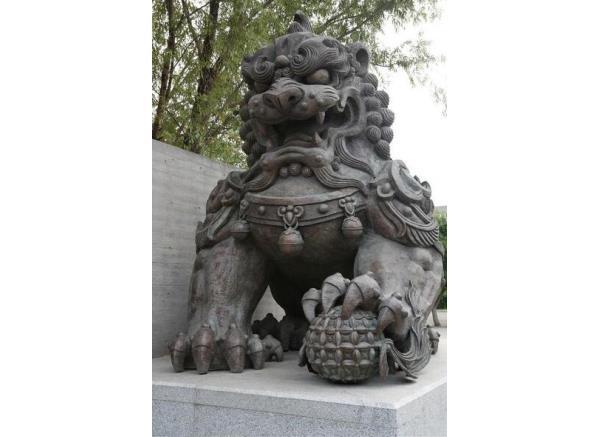 石狮子_石狮子雕塑(图片)