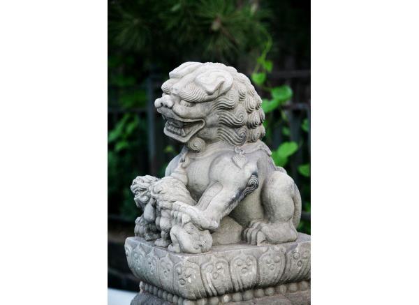 狮子雕刻_动物石狮子雕刻(图片)