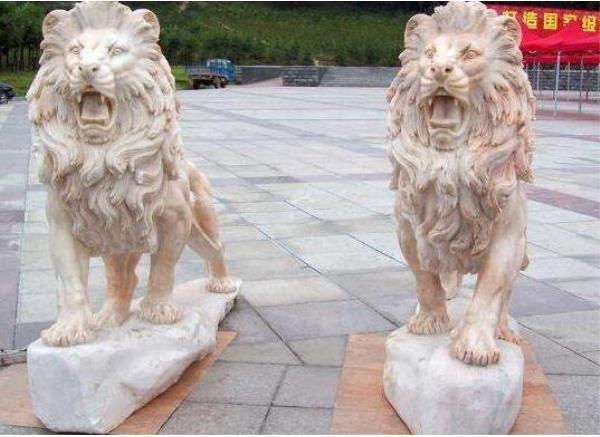 石雕狮子_镇宅狮子(图片)