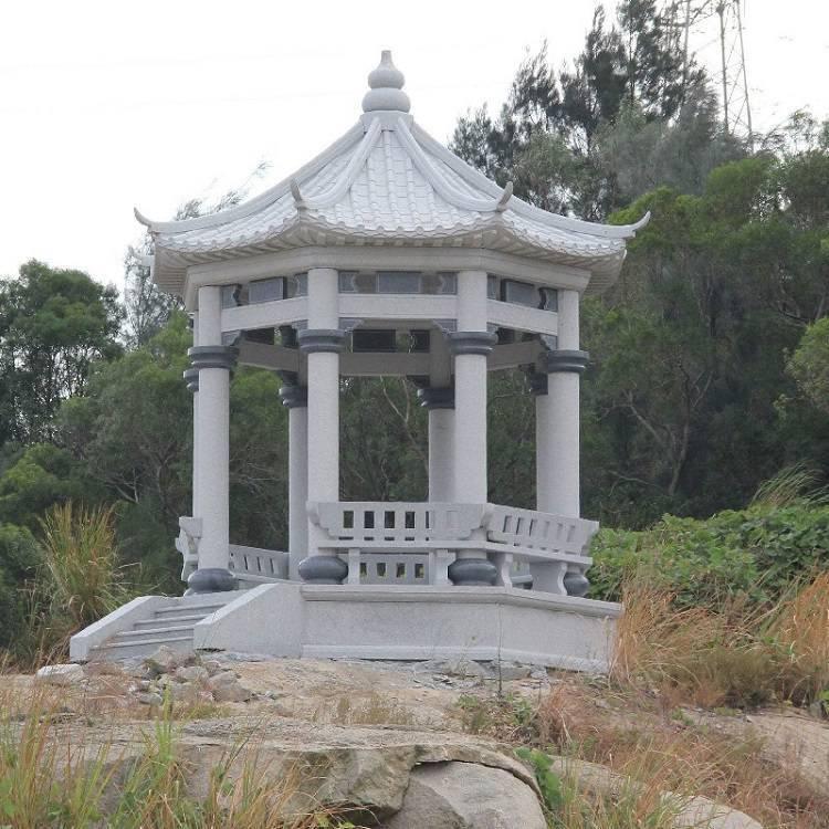 石亭_石亭雕塑(图片)