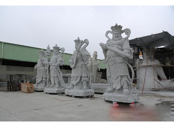 四大天王石像_东方持国天王多罗吒(图片)