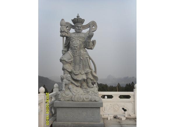 石雕四大天王_持国天王(图片)