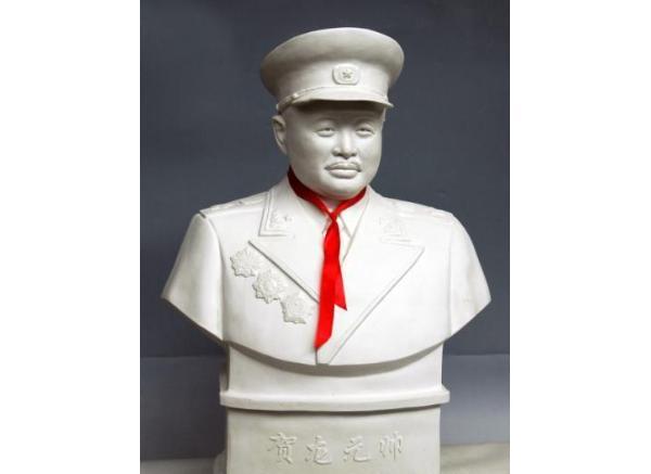 伟人石雕_邓小平塑像(图片)