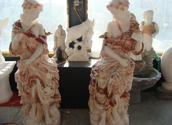 欧式人物雕像_西方裸体雕塑(图片)