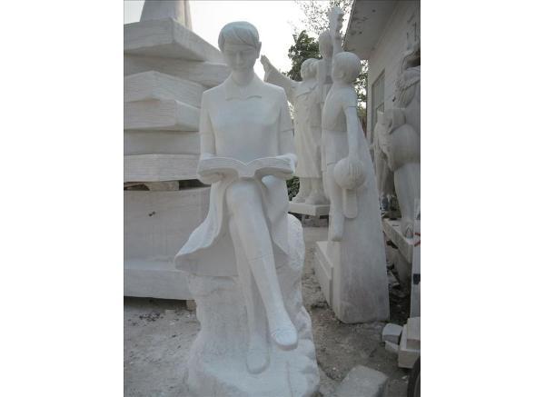 现代人物雕塑_仿真人物塑像(图片)