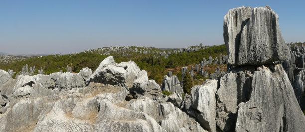 自然风景石_条纹风景石(图片)